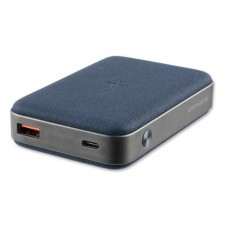 4smarts Powerbank VoltHub Ultimate, induction, 10000 mAh, bleu gris