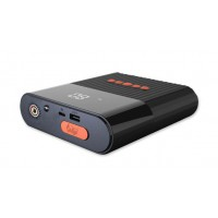 4smarts Powerbank PitStop 3 in 1, 8800mAh, black, with compressor
