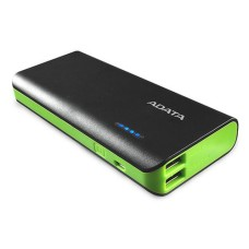 Adata PowerPack PT100 black / green, 10000mAh, 2 USB outputs
