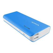 Adata PowerPack PT100 Blue/White, 10000mAh, 2x USB output