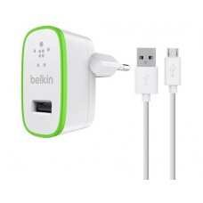 Belkin Universal Home Charger USB 2.0 Typ-A, 12W / 2.4A, white,inkl Micro-USB cable 1.2m