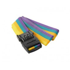 Travel Blue Luggage Strap - 2 Dial Combination - yellow and multicolour , 2m